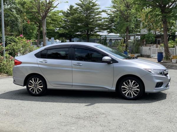 Honda City Top 2019 tự động màu bạc