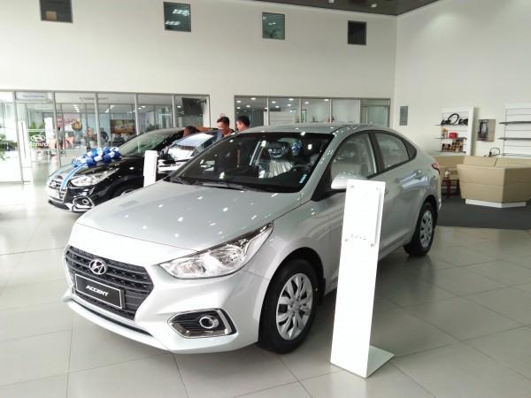 Hyundai Accent MT Base, đủ các màu, trả góp tối ưu