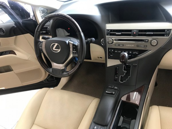 Lexus RX 350 Bán RX350 màu đen nội thất kem 2015