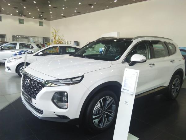 Hyundai Santa Fe 2.2 Dầu đặc biệt đủ các màu, trả góp 80%