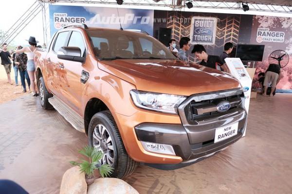 Ford Ranger Form 2016