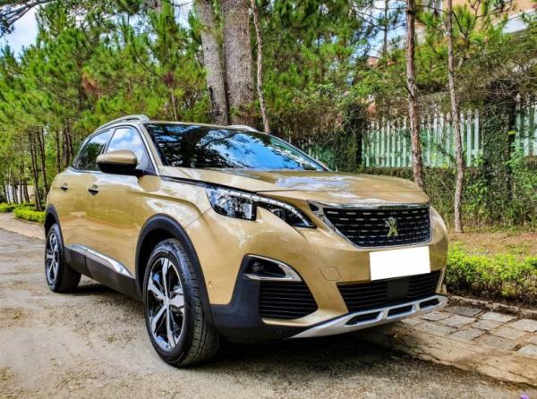 Peugeot 3008 sx 2018, số tự động, màu vàng cát
