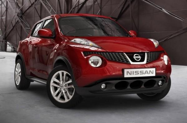 Nissan Juke kiểu dáng độc đáo mới lạ