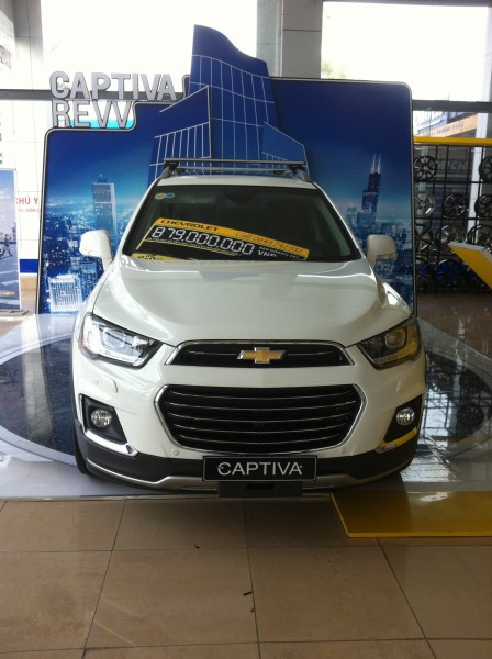 Chevrolet Captiva Revv 2016, giá 879trieu