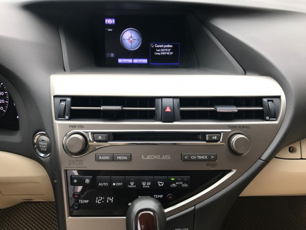 Lexus RX 350 2015 đen