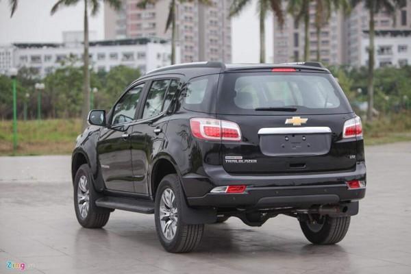 Chevrolet Trailblazer Trailblazer ưu đãi giảm ngay 100 triệu