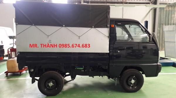 Suzuki Super-Carry Truck thùng mui bạt đời mới nhất giá rẻ + KM