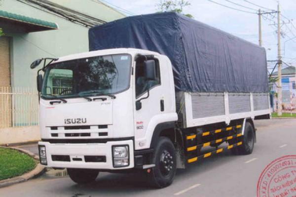 Isuzu FVR 9 tấn thùng dài 7.6 mét