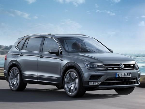 Volkswagen Tiguan XE VOLKSWAGEN TIGUAN ALLSPACE 2018 ĐỦ MÀ