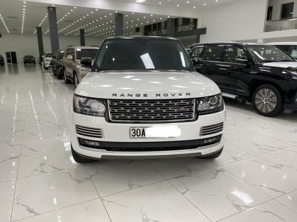 Land Rover Range Rover Bán Range Rover HSE 2015, màu trắng.