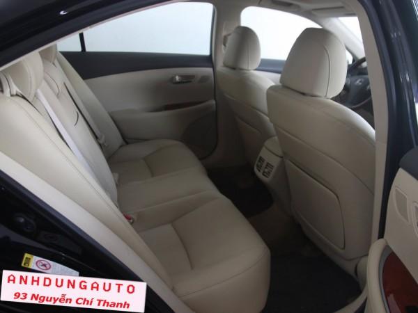 Lexus ES 350 ,sx 2010,nhật bản, màu đen, giá 2tỷ