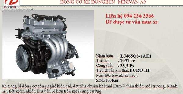 Hãng khác Xe tải Dongben 870 kg, giá ưu đãi