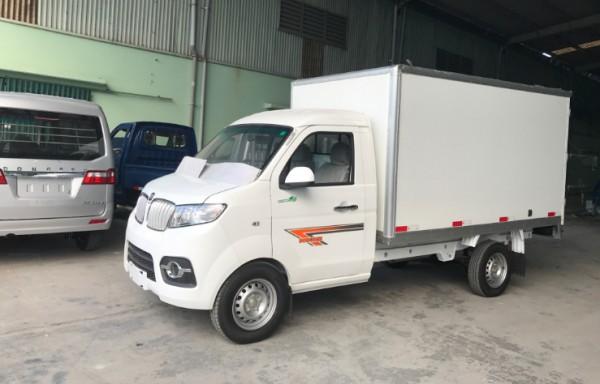 Hãng khác Xe tải Dongben T30 990Kg thùng kín Xetai