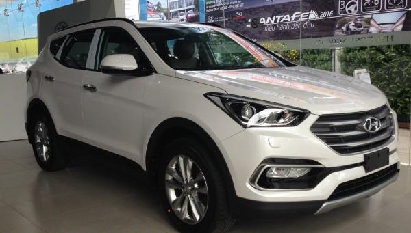 Hyundai Santa Fe 2017 mới, 7 chỗ gầm cao giá cực tốt