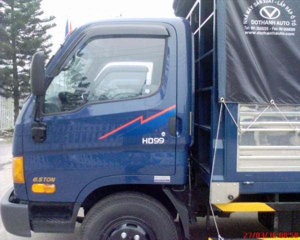 Hyundai H-D 99 THÙNG MUI BẠT 6.5 TẤN( ĐỜI XE 2016)