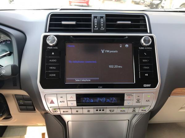 Toyota Prado 2019 đen