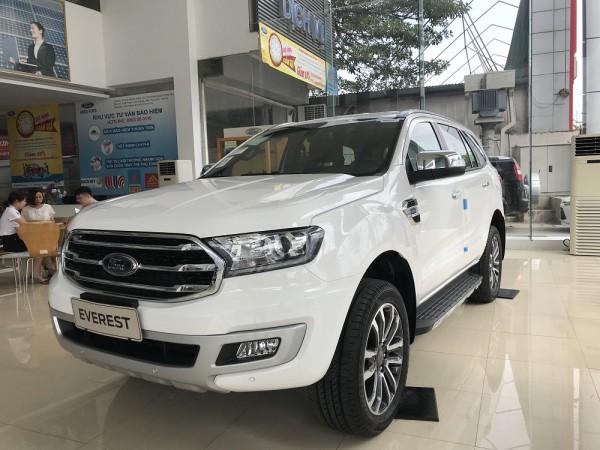 Ford Everest 2019 Giá sốc + Phụ kiện ưu đãi