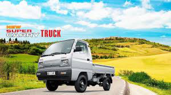 Suzuki Super-Carry Truck Xe tải Suzuki - Thùng Lửng 640 Kg