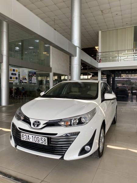 Toyota Vios G 2019 , hỗ trợ Bank nhanh gọn , giá TL