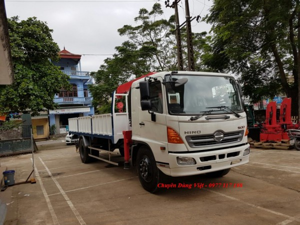 Hãng khác Xe Hino FC9JL cẩu Unic 344, thùng 6.2m
