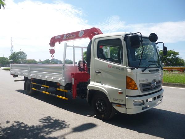 Hãng khác Bán xe tải Hino FC gắn cẩu Unic 344