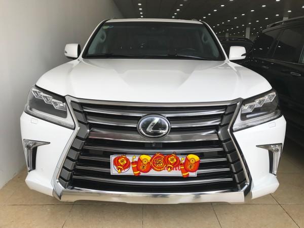 Lexus LX 570 Bán xe Lexus LX 570 màu trắng,đăng ký 16