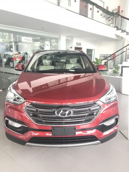 Hyundai Santa Fe Mua Hyundai SANTAFE 2017 ...KM 120tr....