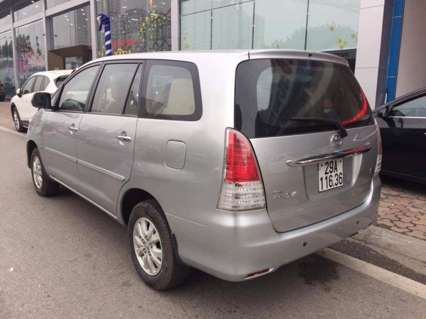 Toyota Innova Toyota Innova G 2011 Màu Bạc giá tốt.
