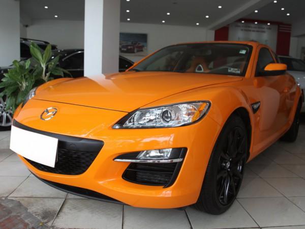 Mazda RX-8 ,nhập khẩu,màu vàng,đk lần đầu 2010