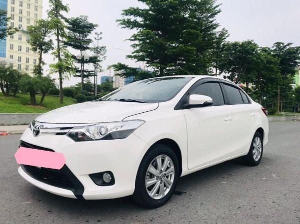 Toyota Vios 2017 AT, dòng G, màu trắng