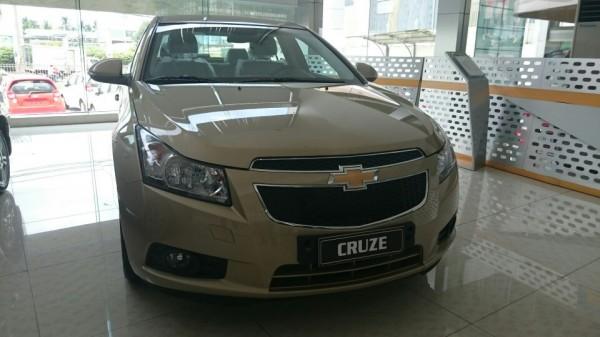 Chevrolet Cruze xe mới 2015