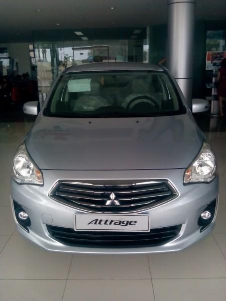 Mitsubishi Attrage MT 2016 nhập khẩu giá tốt nhất!
