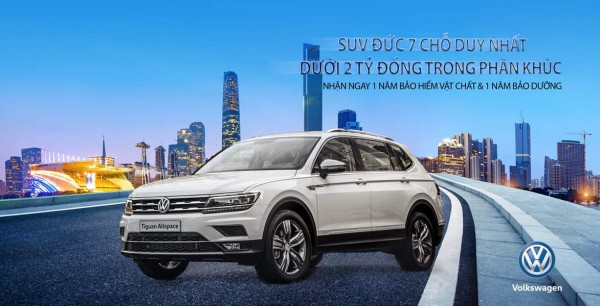 Volkswagen Tiguan Xe Đức Nhập Khẩu 1,5 tỷ