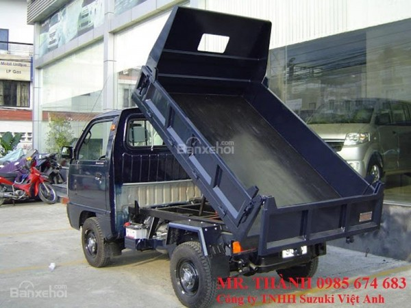Suzuki Super-Carry Truck xe tải ben thủy lực giá rẻ + nhiều KM