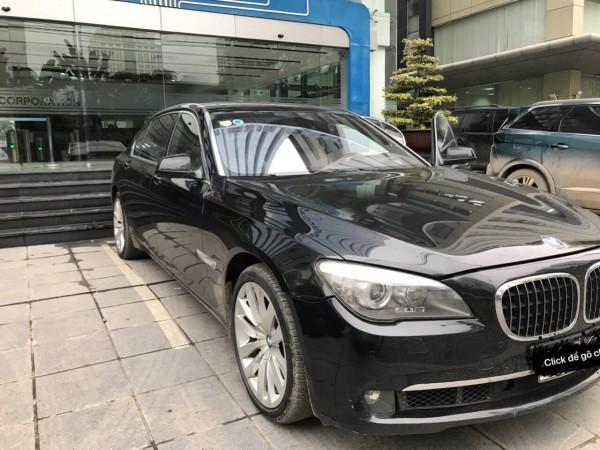 BMW 740 sản xuất 2010 đăng ký 2011