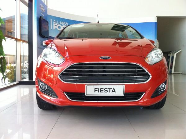 Ford Fiesta Ford Fiesta trang bị động cơ tăng áp