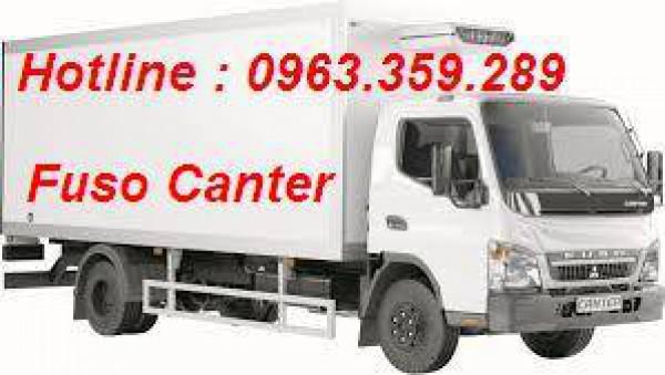 Mitsubishi Canter Xe FUSO canter 8.2 , Tải trọng 5.2 tấn
