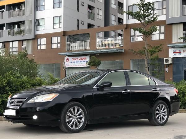 Lexus ES 350 AT model 2007, màu đen, xe nhập số Mỹ