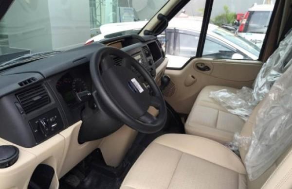 Ford Transit Luxury Nâng Cao Cấp,Sàn Gỗ, Cửa Lùa điện