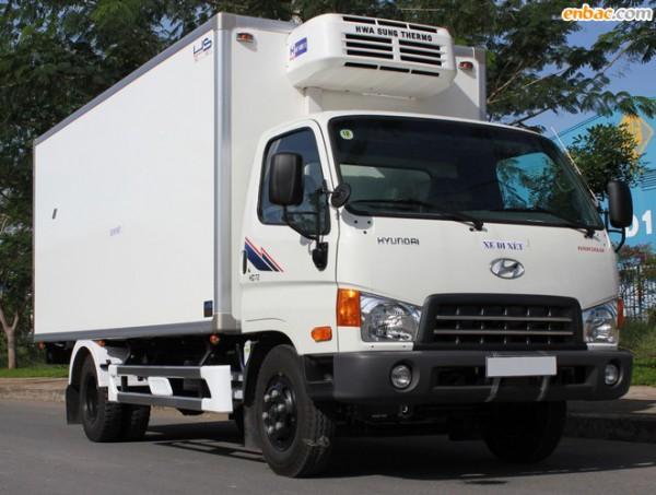 Hyundai H-D 99 THÙNG ĐÔNG LẠNH TẢI TRỌNG 5.7 TẤN