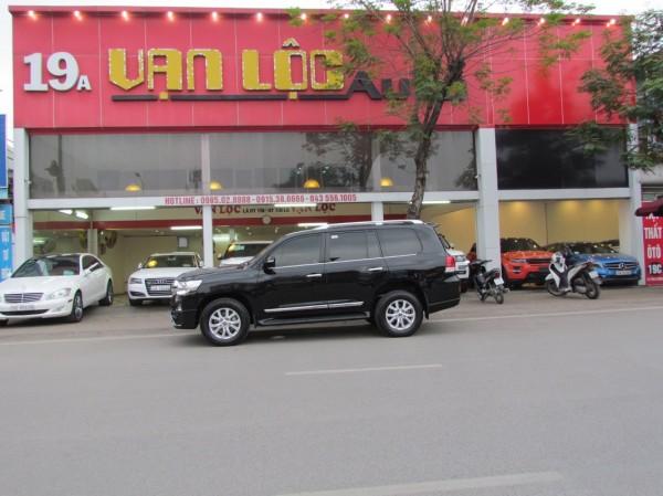 Toyota Land Cruiser 2017 màu đen