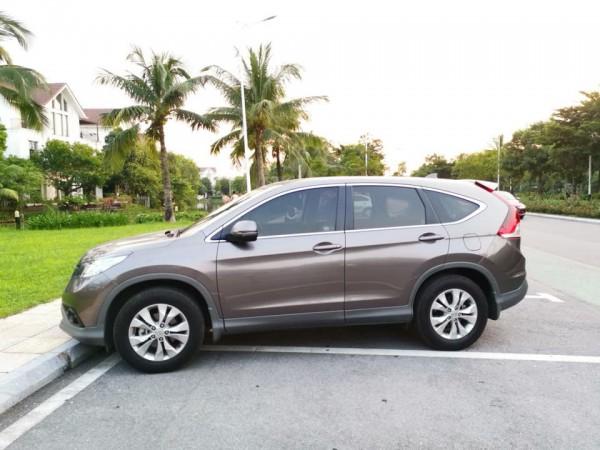 Honda CR-V 2013 AT , màu xám hồng