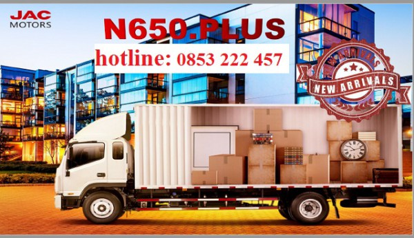 Hãng khác jac n650 plus ( 6 tấn 5)