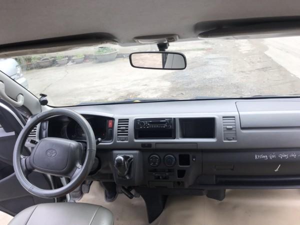 Toyota Hiace Bán Toyota mập Xăng 16 chỗ đời cuối 2008