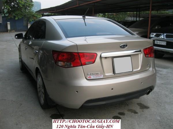 Kia Forte Kia forte sx sản xuất 2011 màu ghi vàng
