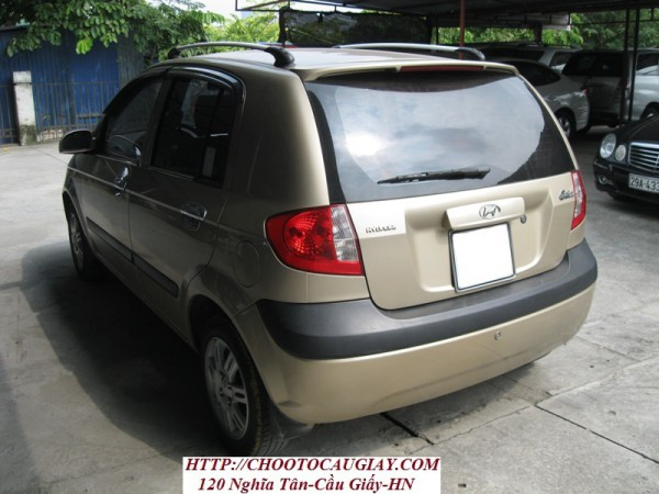 Hyundai Getz Hyundai getz,sản xuất 2009,màu ghi vàng