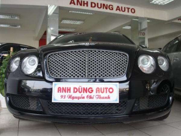Bentley Continental Flying Spur màu đen,sx 2008,nhập khẩu Mỹ,giá 300000$