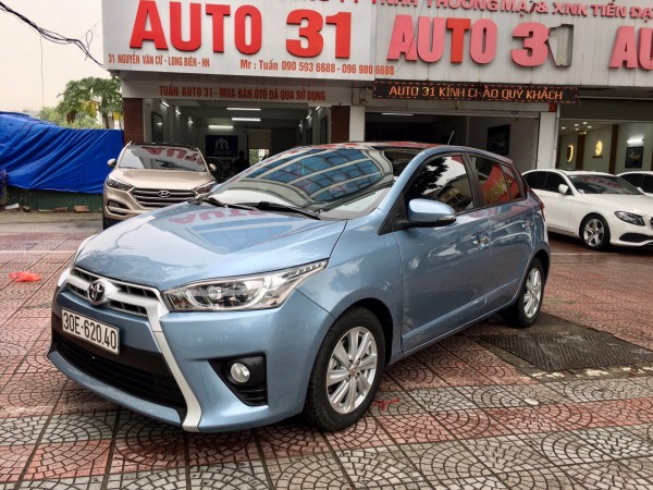 Toyota Yaris Bán xe Yaris bản Gsản xuât 2016