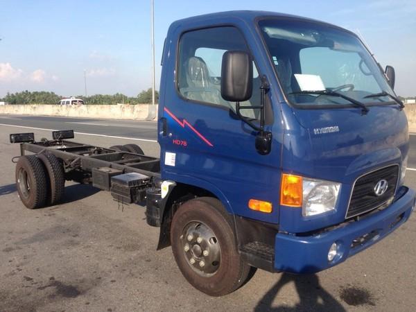 Hyundai H-D Hyundai Mighty HD78 4,5 tấn giao xe ngay