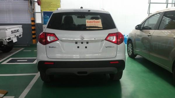 Suzuki Grand Vitara Bán xe Suzuki Vitara 1.6 màu trắng 2016